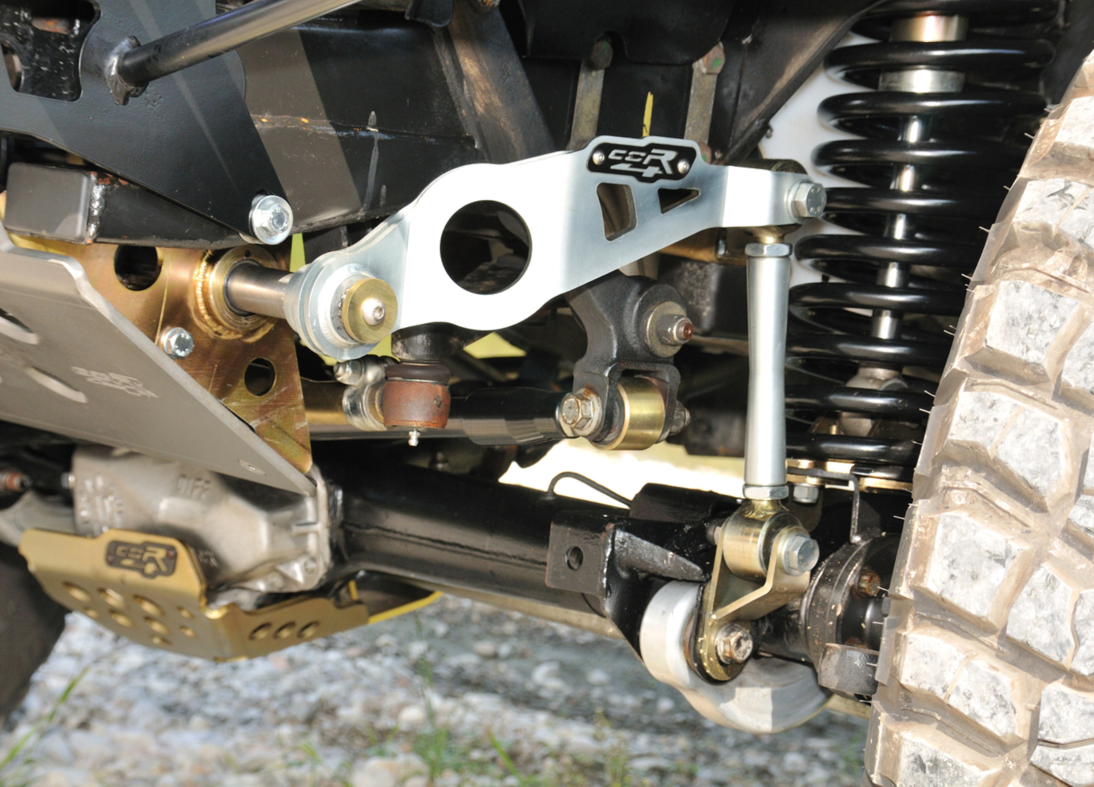 Front Anti Roll Bar Pneumatic Lrs Offroad