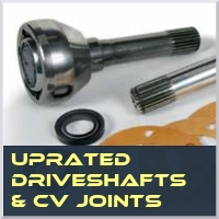Uprated Driveshafts & CV's
