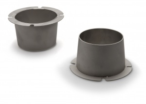 front relocation cones  stainless steel