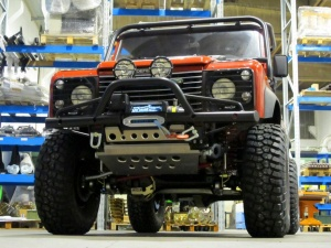 COR4 Bumper Defender with a-bar and winch