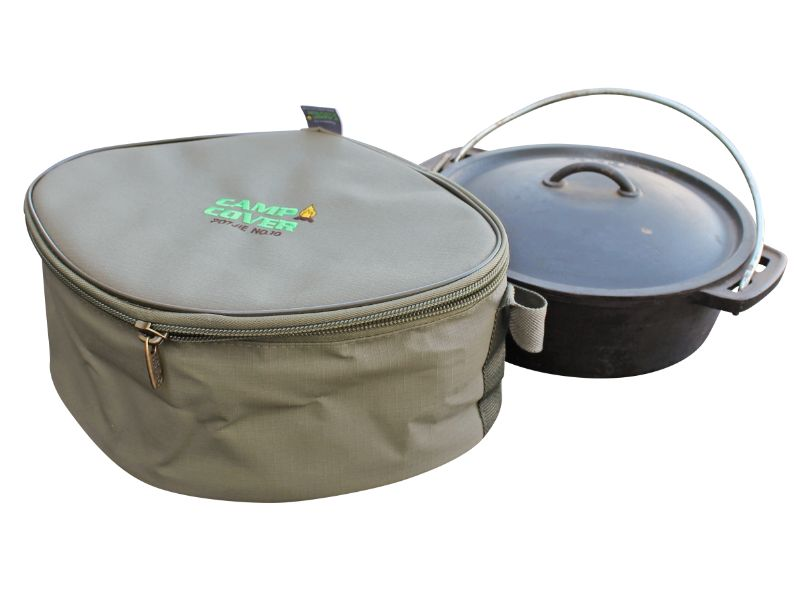 Potjie (Dutch Oven) Cover - No 12 Flat (390x320x150mm)