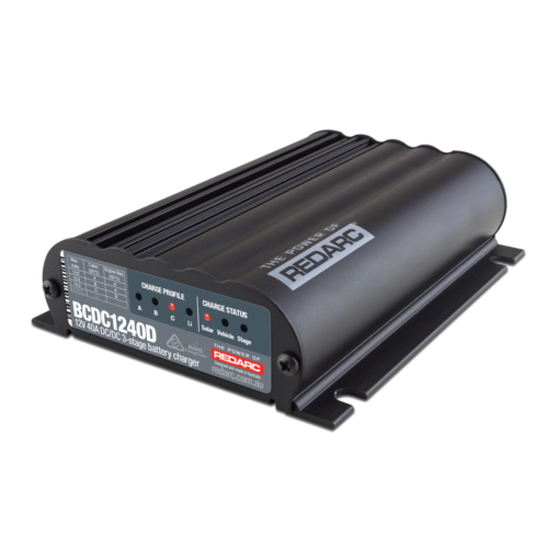 REDARC BCDC1240D SMART CHARGER AND MPPT
