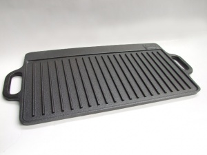 rectangle double sided griddle pan