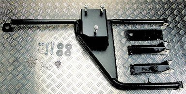 Defender Wheel Carrier Rear Tailgate - Post 2002