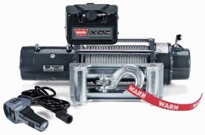 Warn XDC 12V with Steel Rope