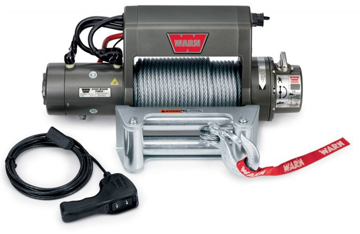 Warn Xd9000i - 12V - 125\' Roller - LRS Offroad