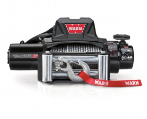 Warn Tabor 10K winch (2017) with steel rope