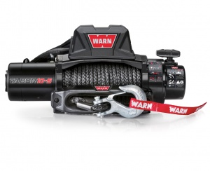 Warn Tabor 10K winch (2017) with synthetic rope