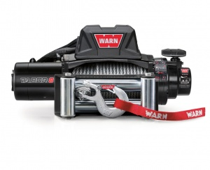 Warn Tabor 8K winch (2017) with steel rope