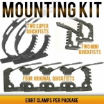 quickfist rubber clamp mounting kit