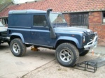 land rover defender 300 series march 94+